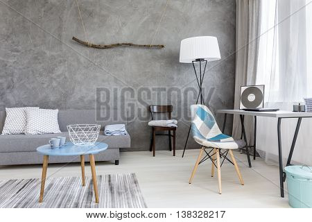 Elegant Combination Of Blue And Gray