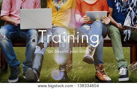 Training Mentoring Skills Ability Studying Development Concept