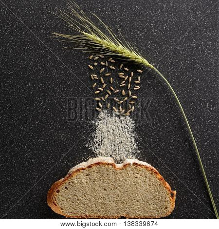 Grains Of Rye Fall Out Ears