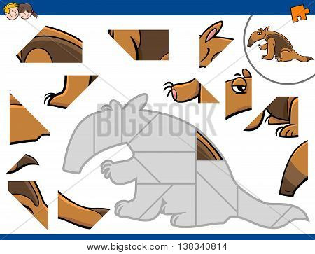 Jigsaw Puzzle With Anteater