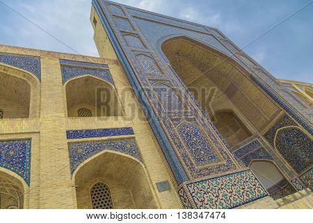 The Kosh-Madrasah, Beautiful Old Bukhara city, Uzbekistan