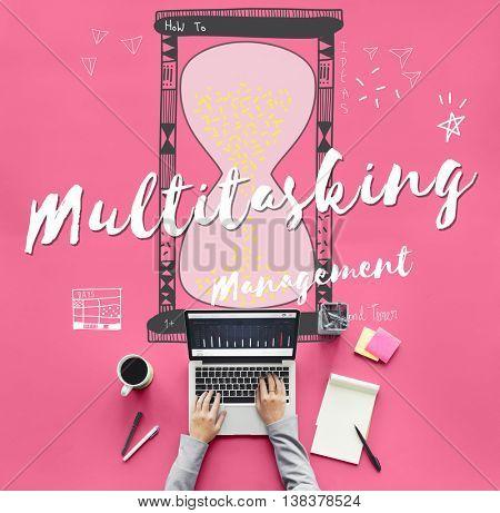 Multitasking Multitask Management Planning Efficiency Concept