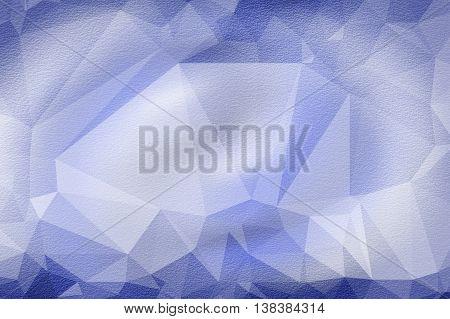 art grunge blue polygon abstract pattern illustration background