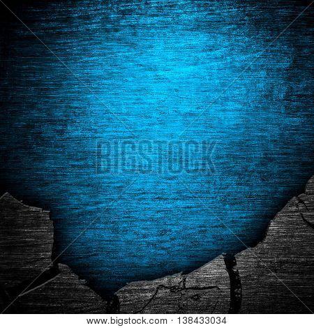 cracked metal background