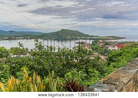 View Over The Bay Of Baracoa