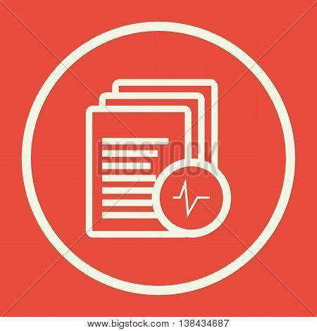 Files Pulse Icon In Vector Format. Premium Quality Files Pulse Symbol. Web Graphic Files Pulse Sign