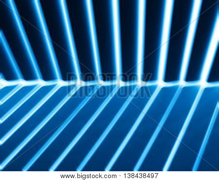 Diagonal Bue Light And Shadow Panels Background
