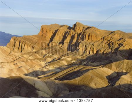 Cliff At Zabriskie Point