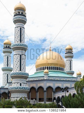 Sultan of Brunei Palace in Bandar Seri Begawan, Brunei