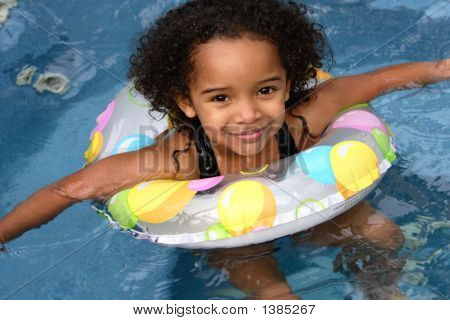 Ashley In A Swimming Pool
