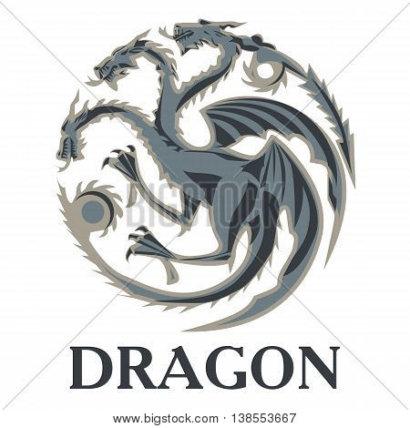 Dragon. perfect for printing on t-shirts or shorts
