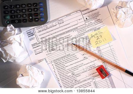 2010 U.S. Tax form late