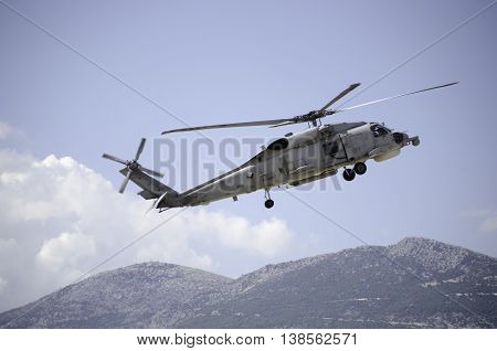 Black hawk helicopter rescue support team uh60