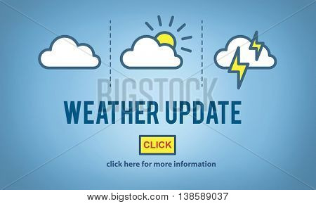 Weather Update Prediction Forecast News Information Concept