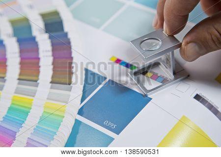 Press color management desing agency art graphic
