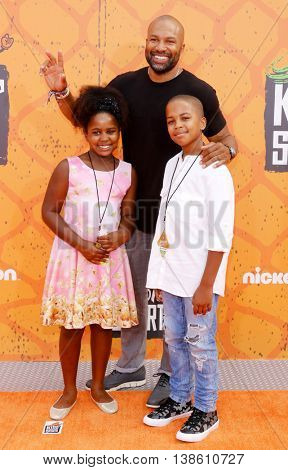 Derek Fisher at the Nickelodeon Kids' Choice Sports Awards 2016 held at the UCLA's Pauley Pavilion in Westwood, USA on July 14, 2016.