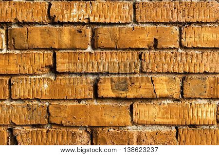 Brickwork, brick, pattern of old brick surfaced, rough brick wall, brickwall, brick house