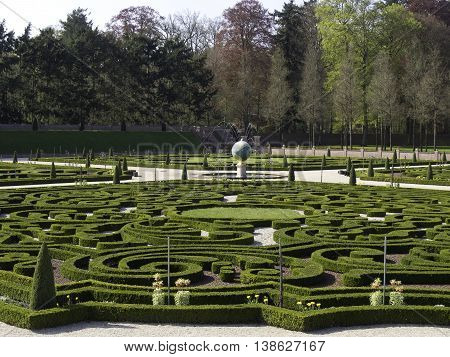 the royal Castle of het loo in holland