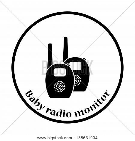 Baby Radio Monitor Icon