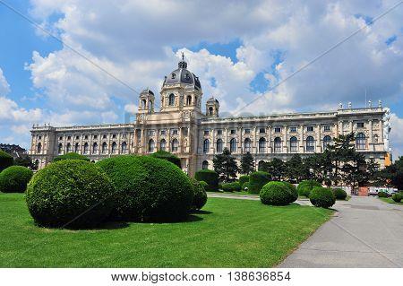 Museum quarter in Vienna city centre, Austria