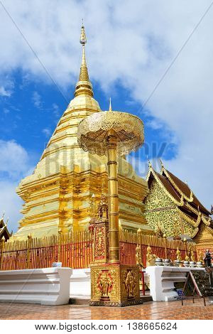 Wat Phra That Doi Suthep Chiangmai Thailand