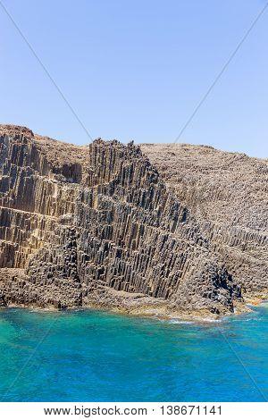 Glaronisia rocky islets, Milos island, Cyclades, Greece