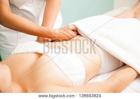 Deep Tissue Massage Up Close