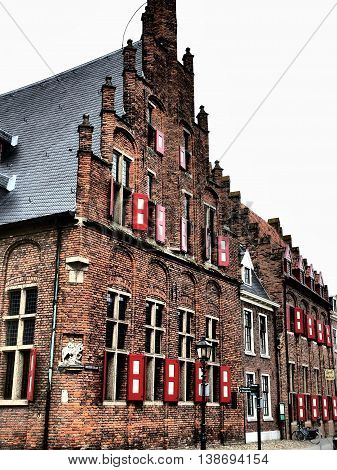 the City of doesburg in the netherlands