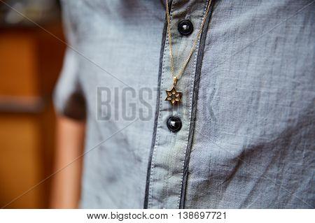 Necklace, Star Of David, Elegance, Luxury, Symbol