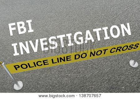 Fbi Investigation Concept