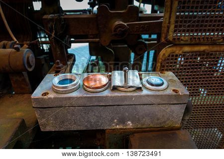 remote control of old machine in factory