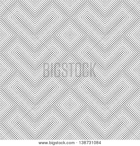 Seamless pattern. Abstract small dotted background. Modern stylish texture with regularly repeating dotted geometrical shapes small dots rhombuses corner zigzags. Vector element of graphic design