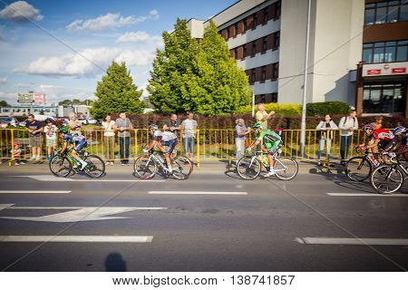 Rzeszow, Poland - July 15: Cycling Race Tour De Pologne, Stage 4 In Rzeszow. 73Th Tour De Pologne, S