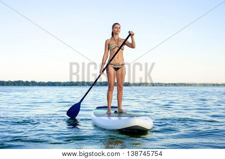 Sup Stand Up Paddle Board Woman Paddle Boarding15