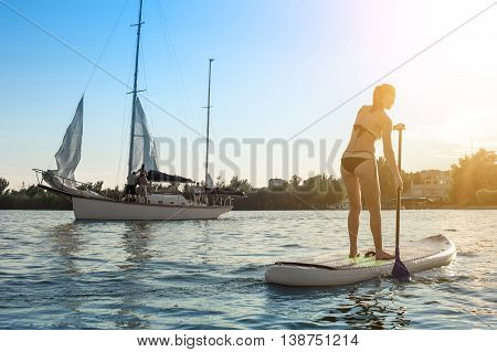 Sup Stand Up Paddle Board Woman Paddle Boarding13