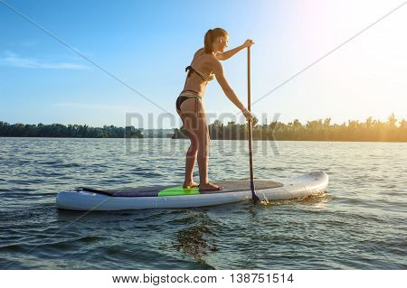 Sup Stand Up Paddle Board Woman Paddle Boarding12