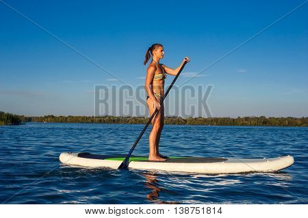 Sup Stand Up Paddle Board Woman Paddle Boarding10