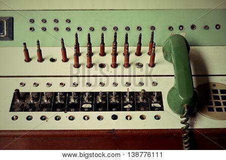 Machine Communication Retro And Machine Communication Vintage