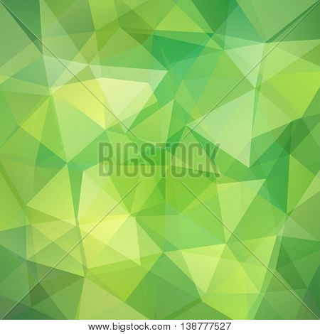 Polygonal Vector Background. Can Be Used In Cover Design, Book Design, Website Background. Vector Il