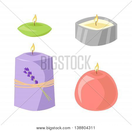 Aroma candle isolated spa aromatherapy aroma candle and relaxation aroma candle. Beauty flame relax care aroma candle. Decoration health therapy aroma candle treatment bath natural care