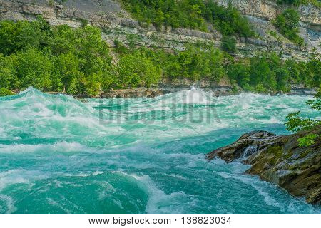 The Whirlpool Rapids in the Niagara River are considered class 6 rapids and very dangerous.