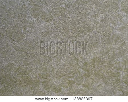 dirty grimy flower cloth back texture background iamge