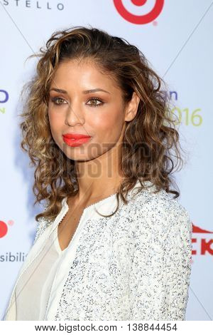 LOS ANGELES - JUL 16:  Brytni Sarpy at the HollyRod Presents 18th Annual DesignCare at the Sugar Ray Leonard's Estate on July 16, 2016 in Pacific Palisades, CA