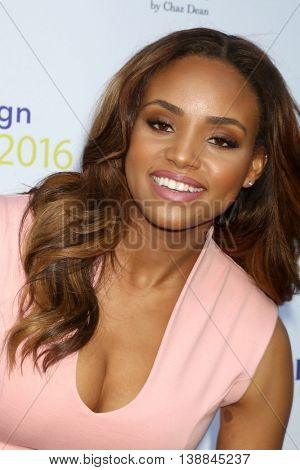 LOS ANGELES - JUL 16:  Meagan Tandy at the HollyRod Presents 18th Annual DesignCare at the Sugar Ray Leonard's Estate on July 16, 2016 in Pacific Palisades, CA