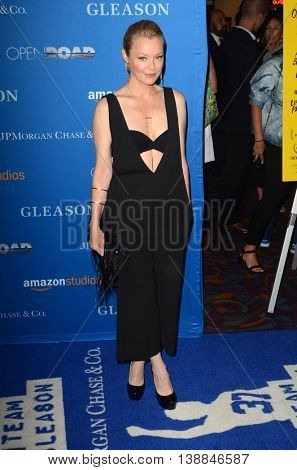 LOS ANGELES - JUL 14:  Charlotte Ross at the Gleason LA Premiere Screening at the Regal 14 Theaters at LA Live on July 14, 2016 in Los Angeles, CA