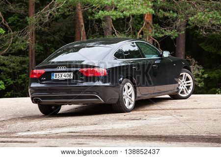 Black Facelift Audi A5 2.0 Tdi 2012