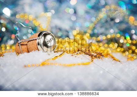 New Year's Eve/champagne Cork New Year's 2018