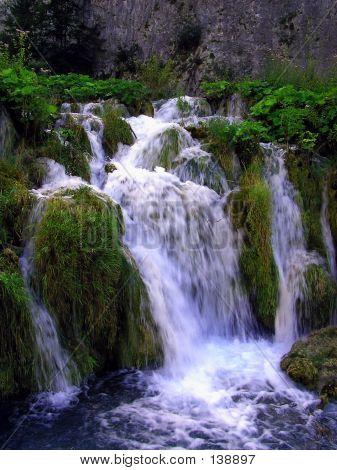 Small Mossy Waterfall
