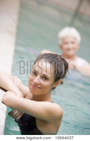 Portrait Of A Water Therapy Instructor