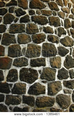 Typical Azores Stone Wall